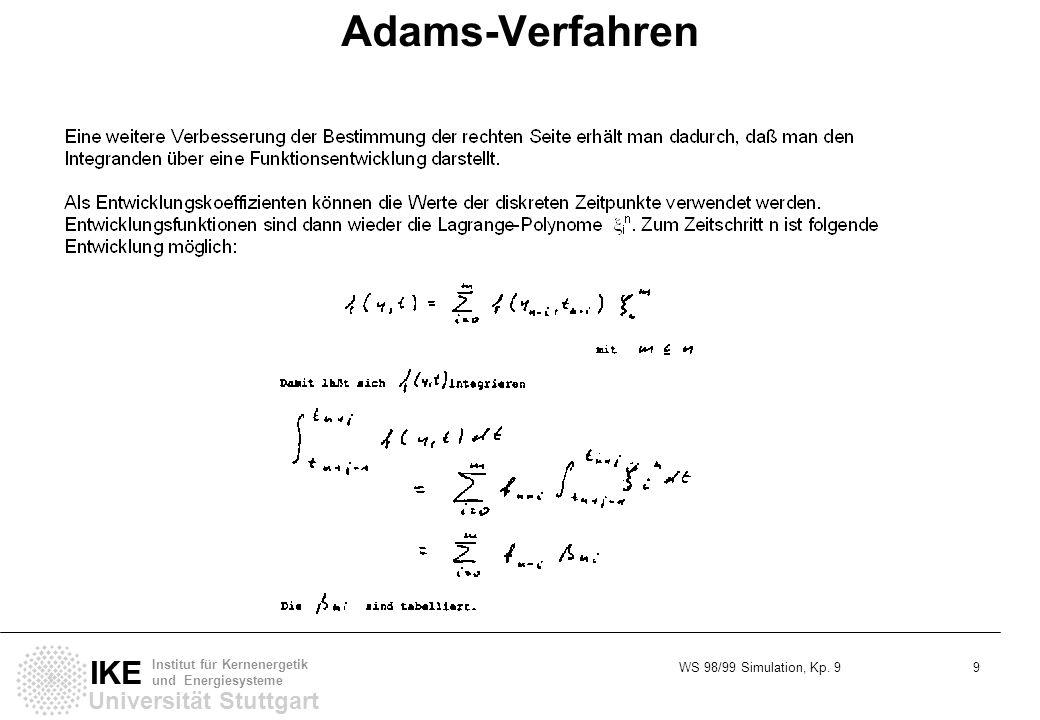 Adams-Verfahren