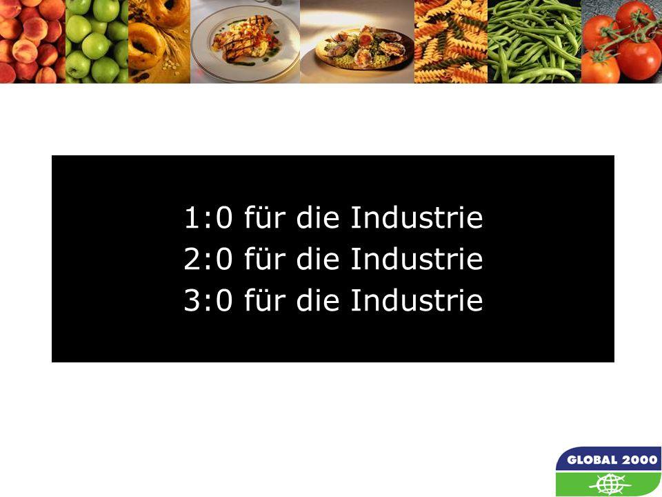 1:0 für die Industrie 2:0 für die Industrie 3:0 für die Industrie