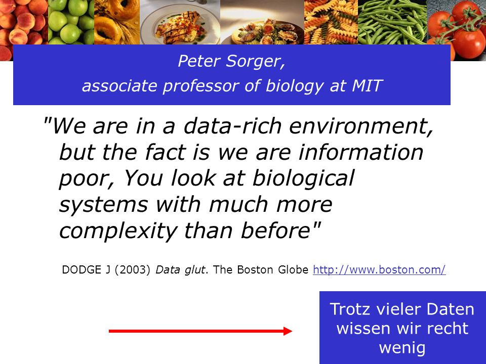 Peter Sorger, associate professor of biology at MIT