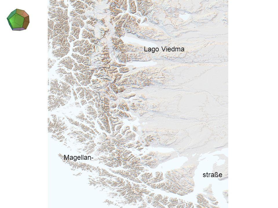 Lago Viedma Magellan- straße