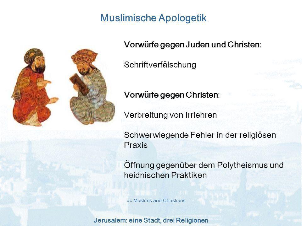 Muslimische Apologetik