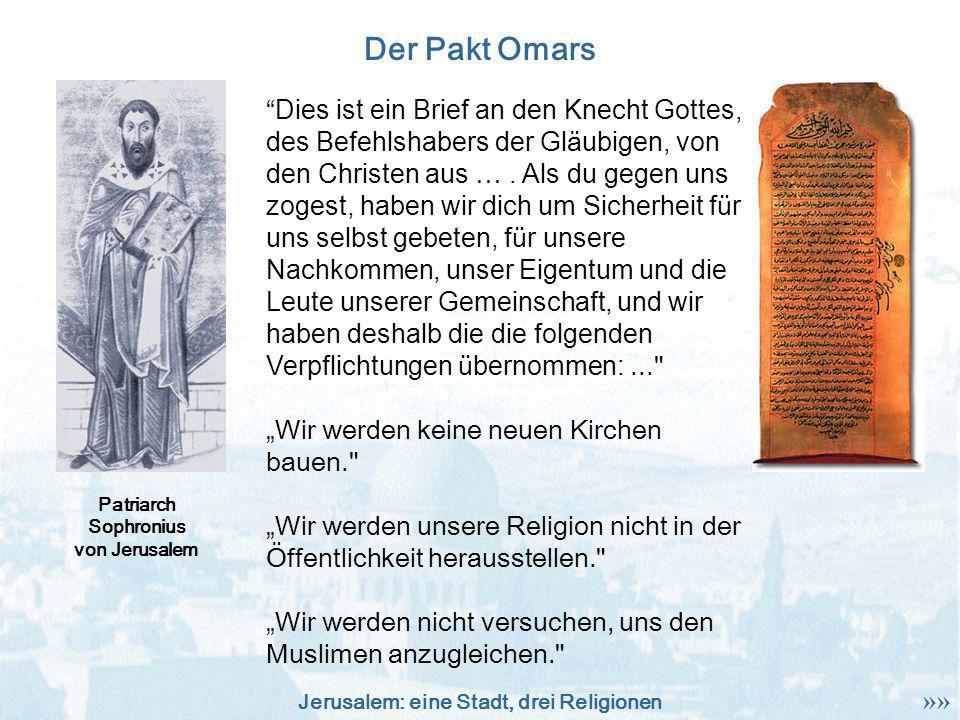 Der Pakt Omars