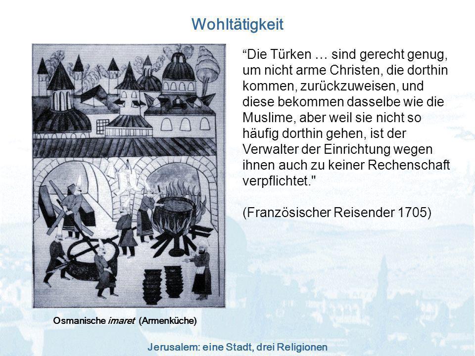 Osmanische imaret (Armenküche)