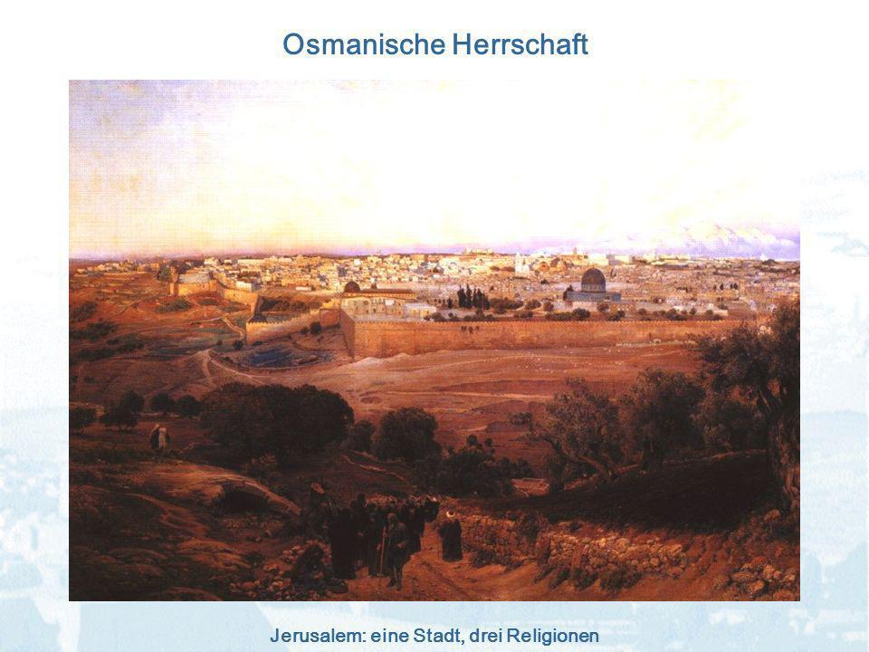 Osmanische Herrschaft
