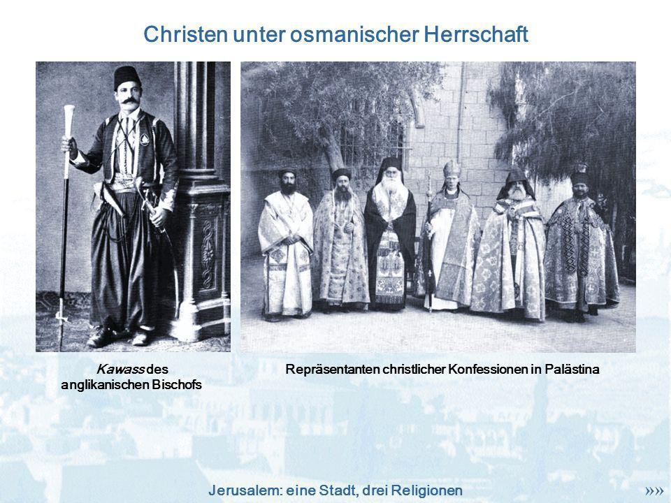 Christen unter osmanischer Herrschaft