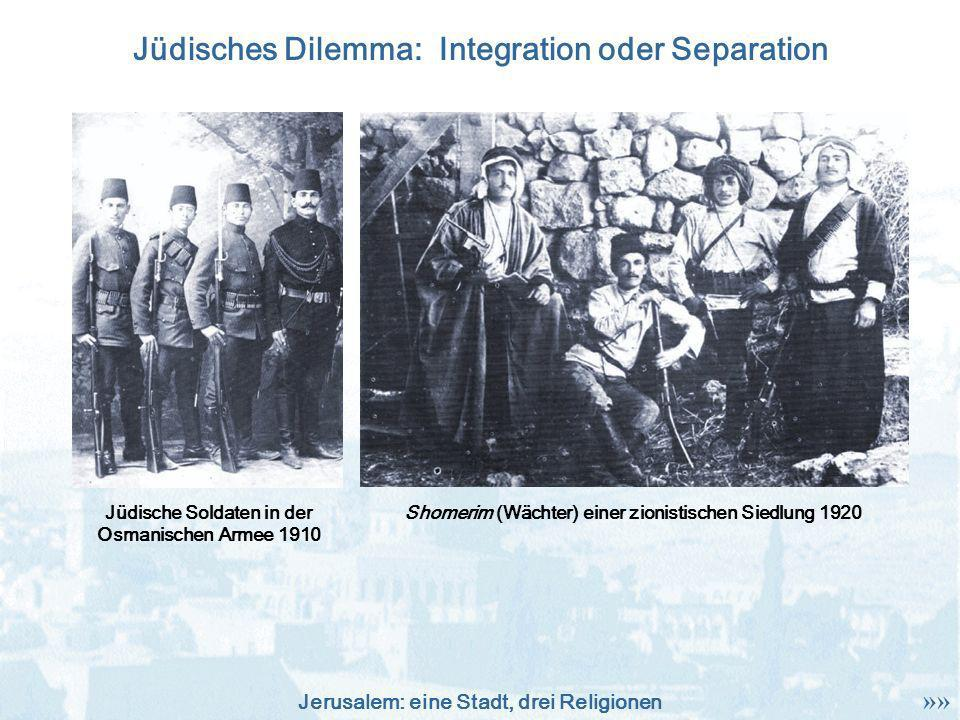 Jüdisches Dilemma: Integration oder Separation