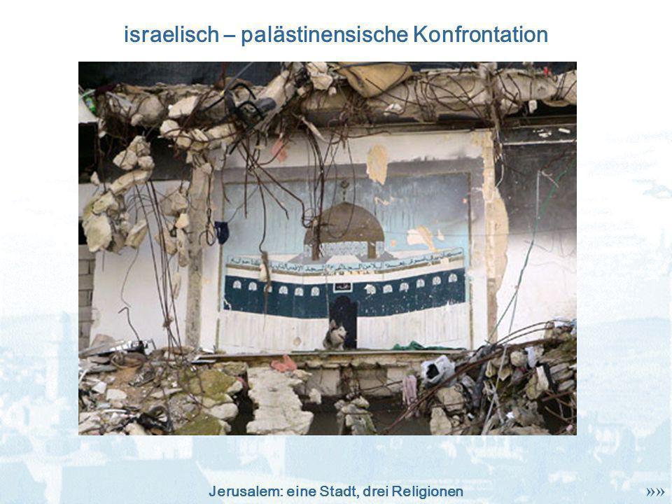 israelisch – palästinensische Konfrontation