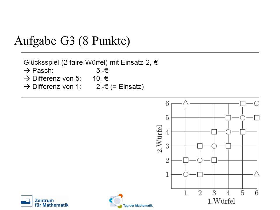 Aufgabe G3 (8 Punkte)
