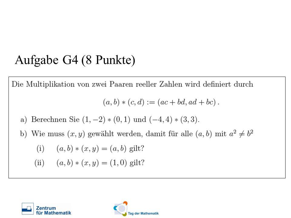 Aufgabe G4 (8 Punkte)