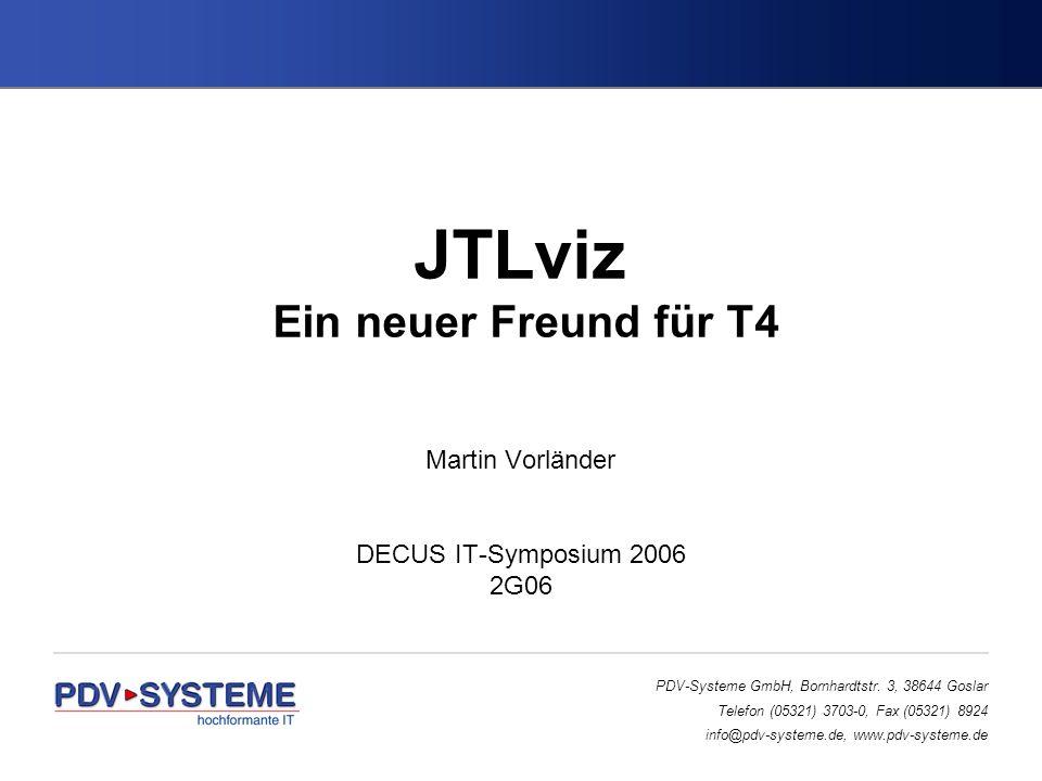JTLviz Ein neuer Freund für T4