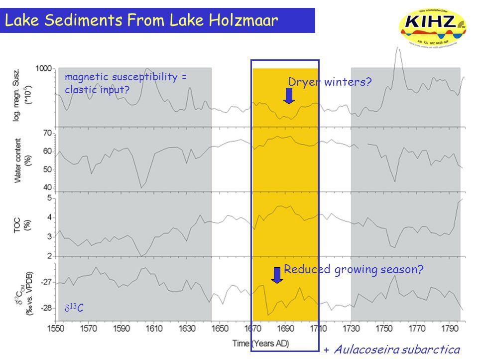 Lake Sediments From Lake Holzmaar