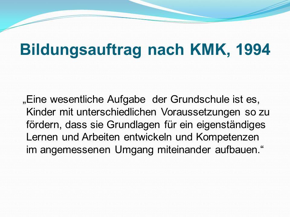 Bildungsauftrag nach KMK, 1994