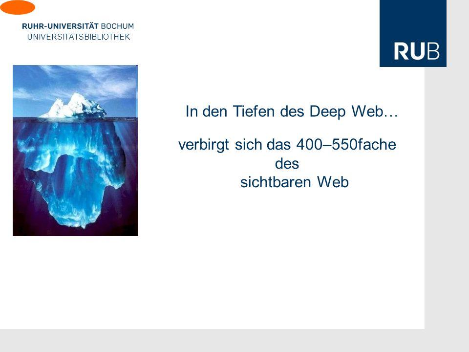 In den Tiefen des Deep Web…