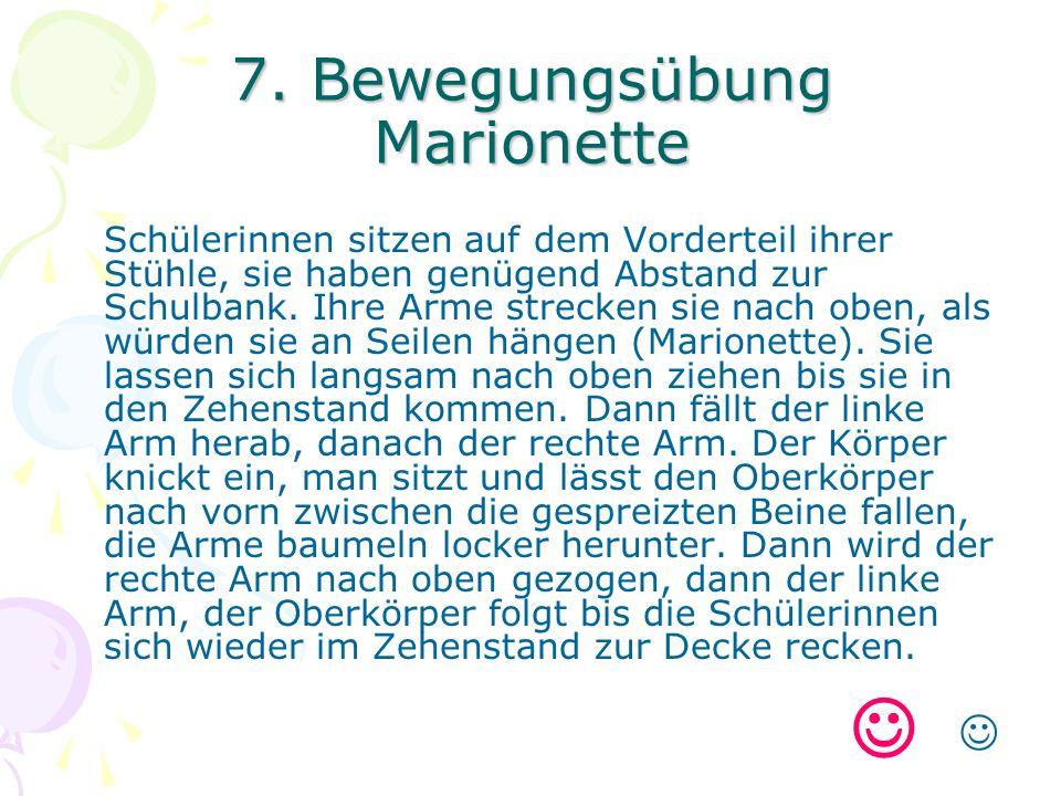 7. Bewegungsübung Marionette