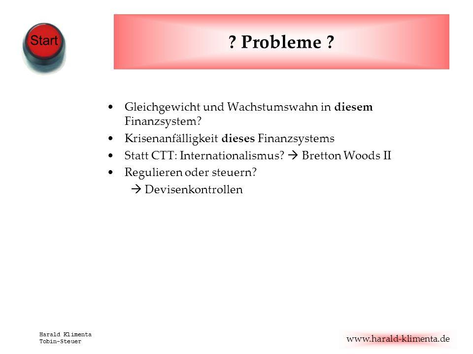 Probleme Gleichgewicht und Wachstumswahn in diesem Finanzsystem
