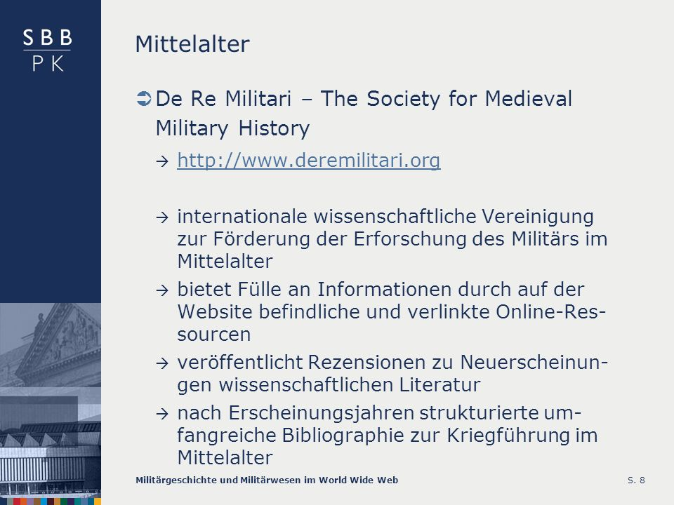 Mittelalter De Re Militari – The Society for Medieval Military History