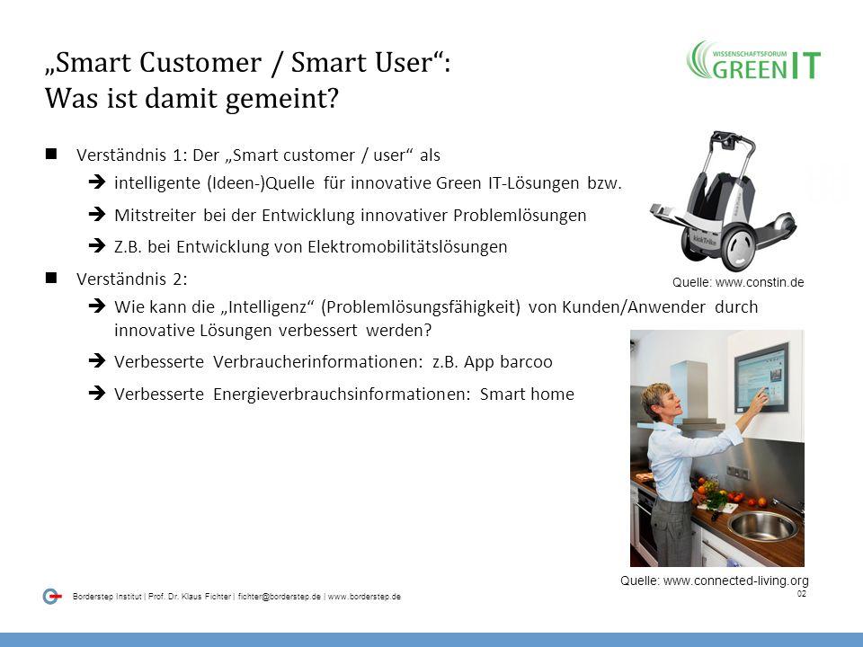 """""""Smart Customer / Smart User : Was ist damit gemeint"""