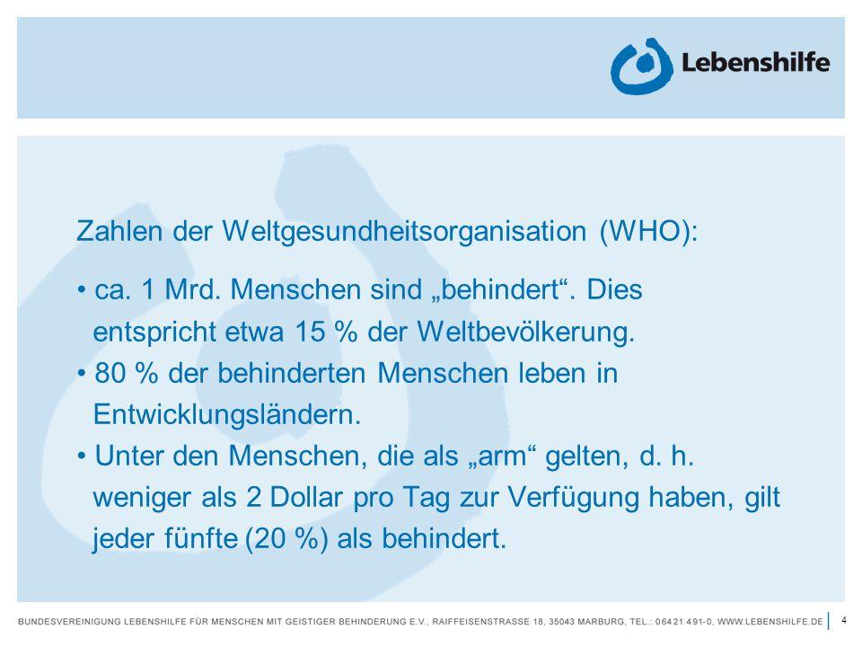 Zahlen der Weltgesundheitsorganisation (WHO):