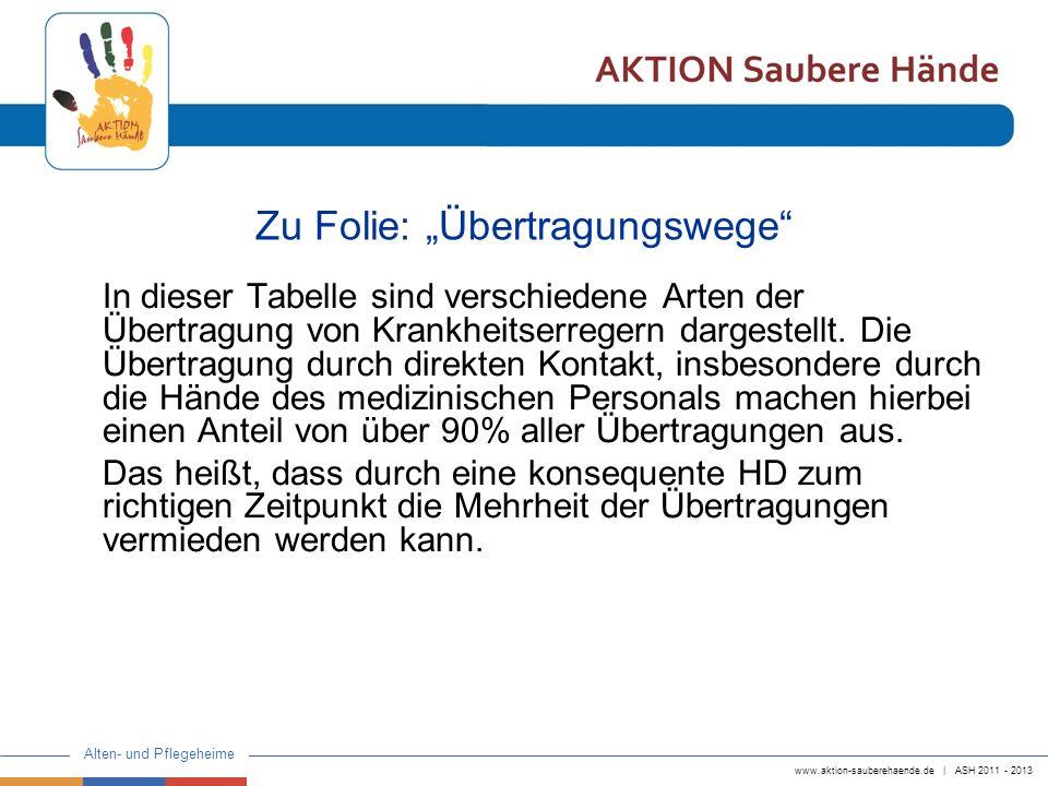 """Zu Folie: """"Übertragungswege"""
