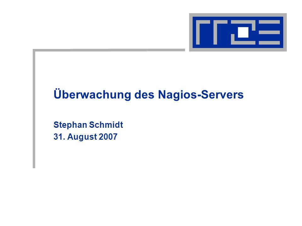 Überwachung des Nagios-Servers