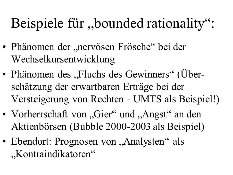 "Beispiele für ""bounded rationality :"