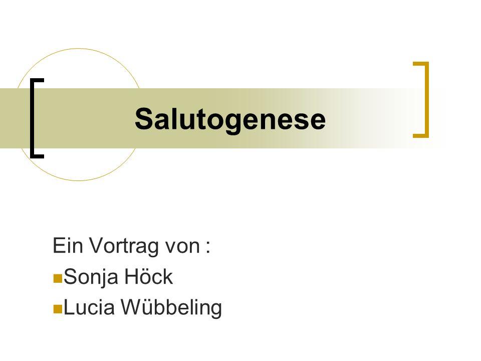 Ein Vortrag von : Sonja Höck Lucia Wübbeling