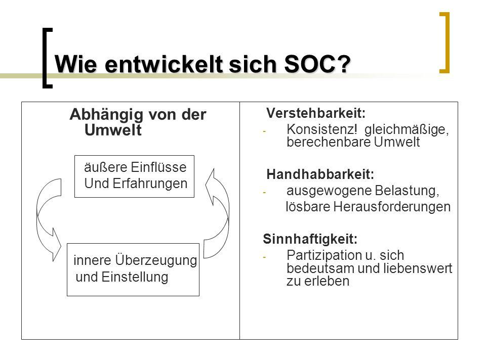 Wie entwickelt sich SOC