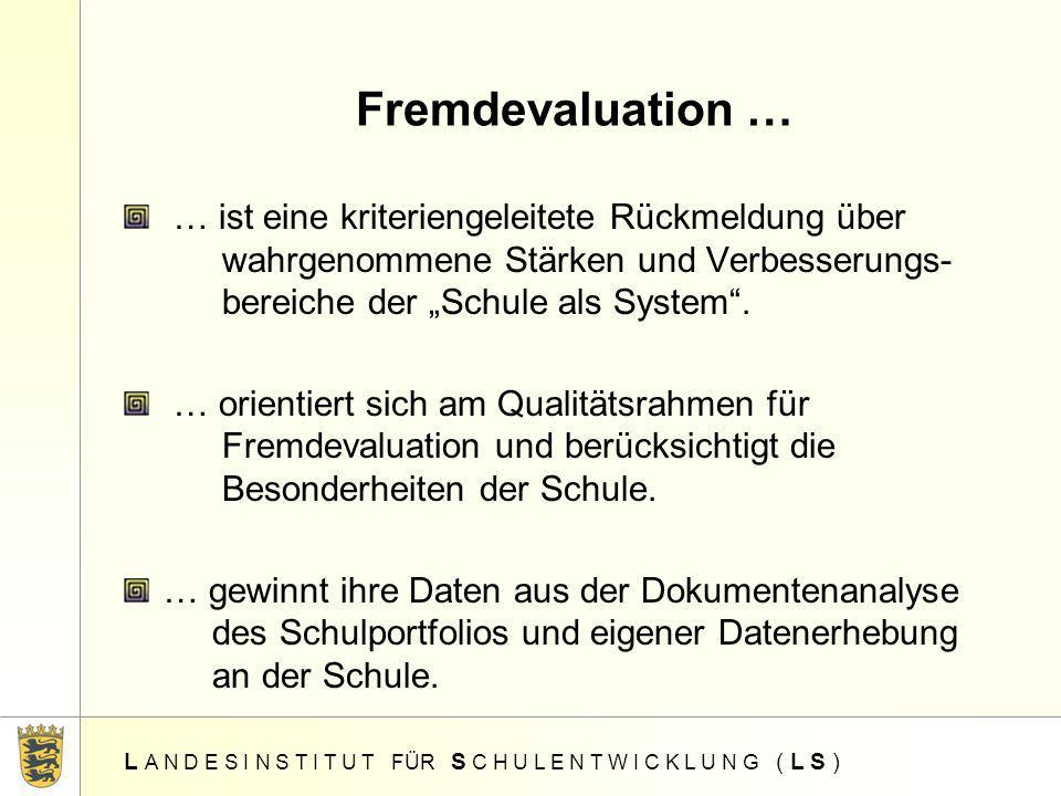 Fremdevaluation …