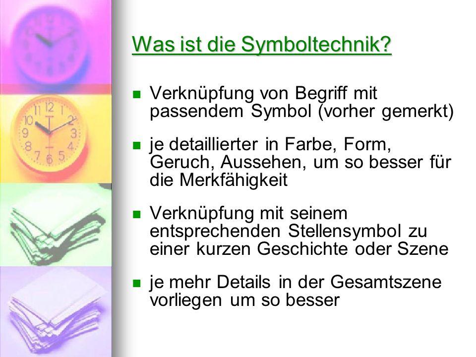 Was ist die Symboltechnik