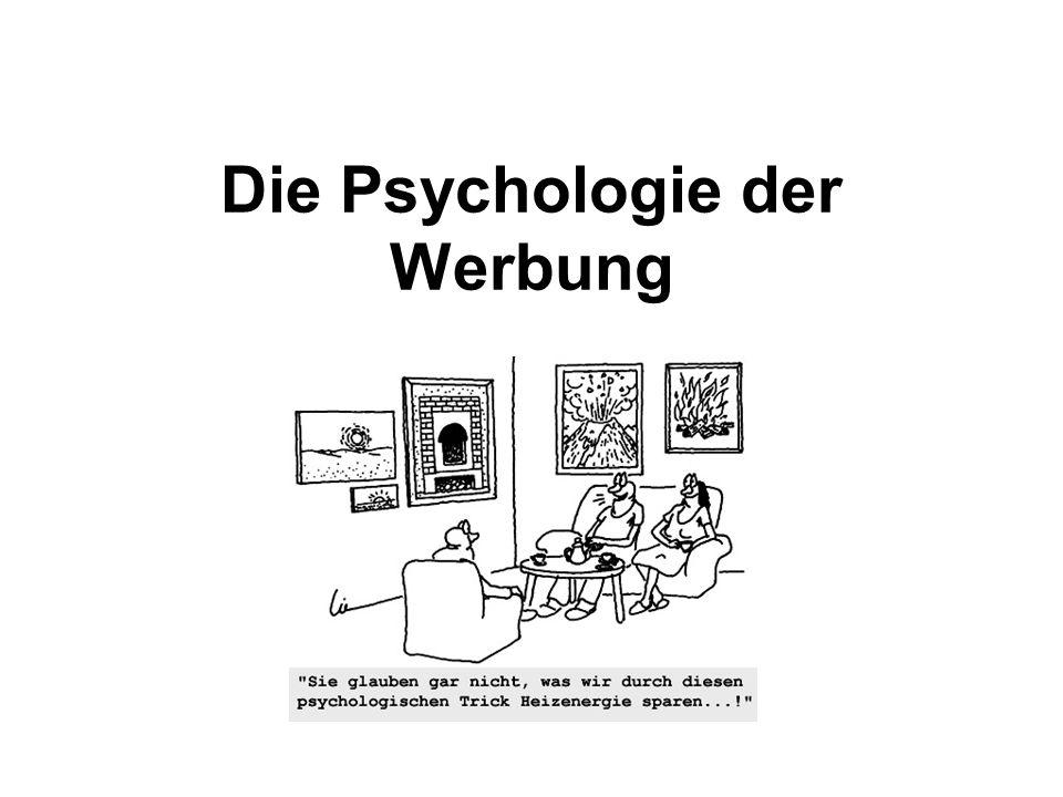 Die Psychologie der Werbung