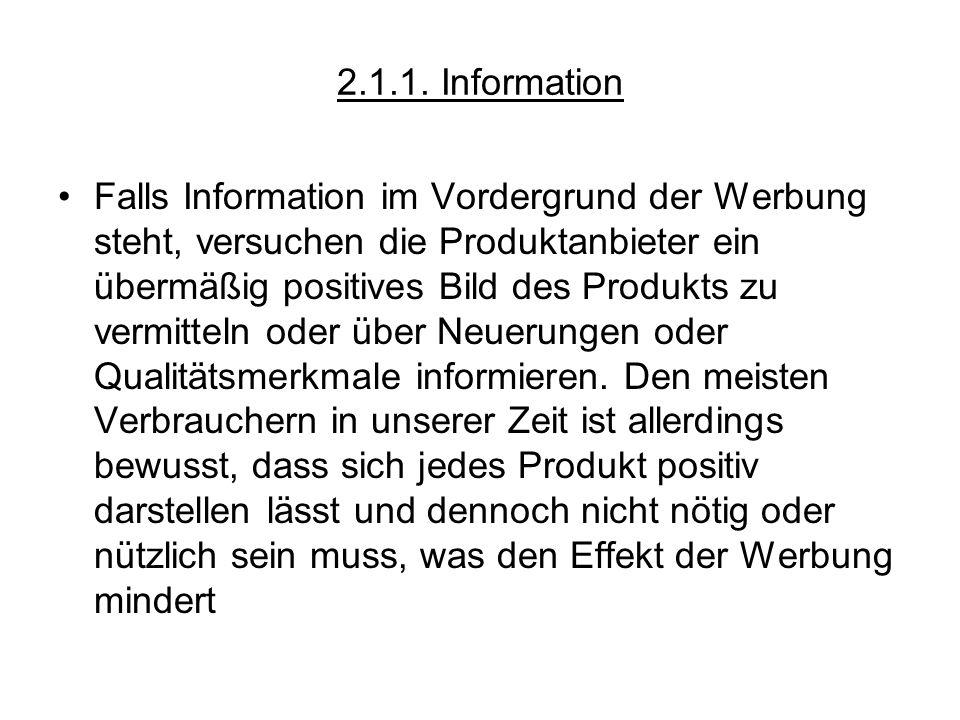 2.1.1. Information