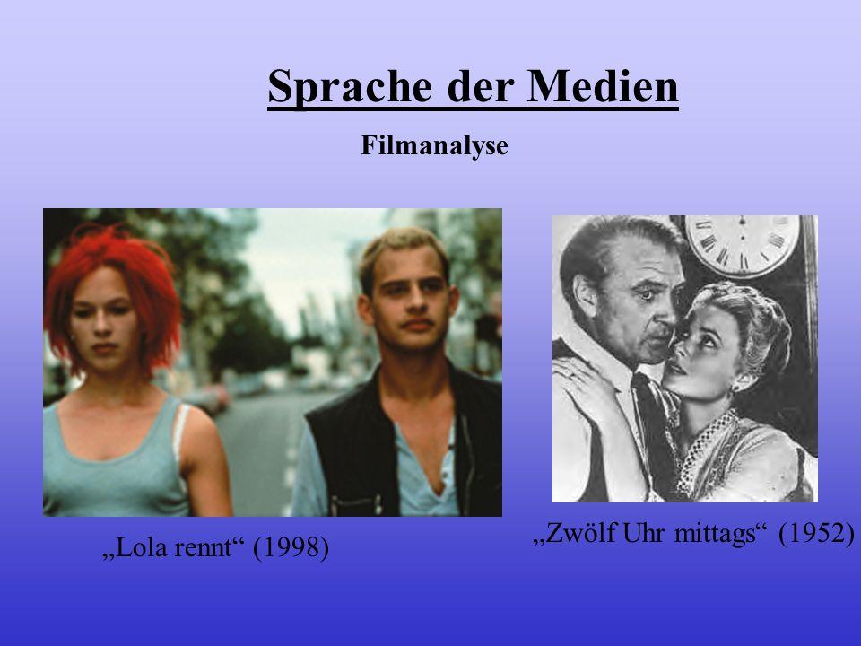 """Sprache der Medien Filmanalyse """"Zwölf Uhr mittags (1952)"""