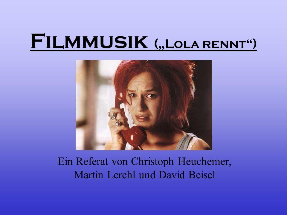 """Filmmusik (""""Lola rennt )"""