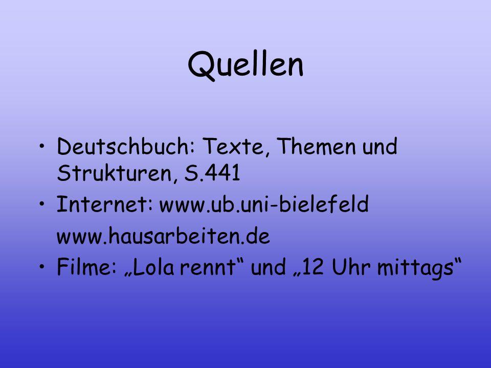 Quellen Deutschbuch: Texte, Themen und Strukturen, S.441