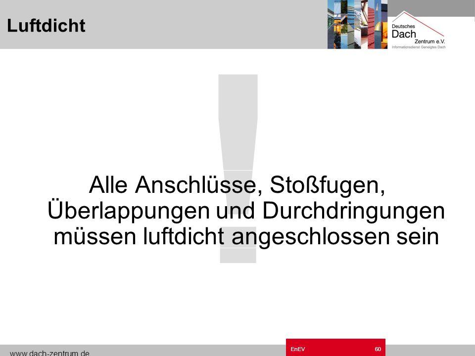 Luftdicht Grundzüge EnEV.ppt. !