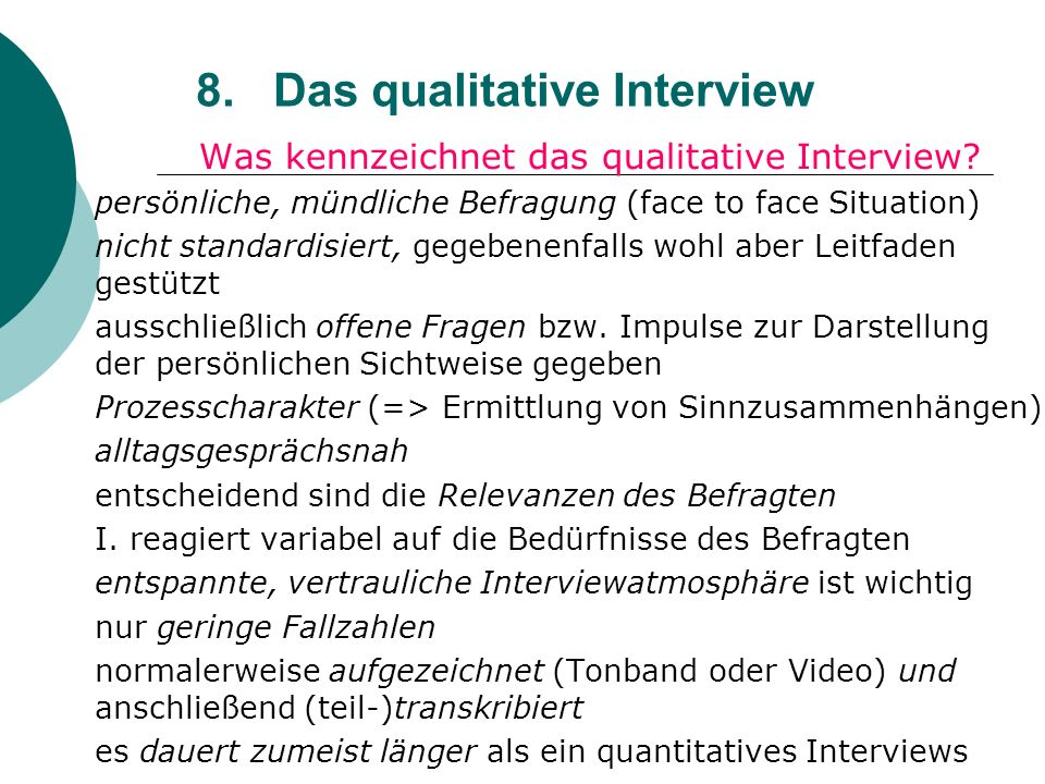 Face-to-Face Interviewing - SAGE Research Methods