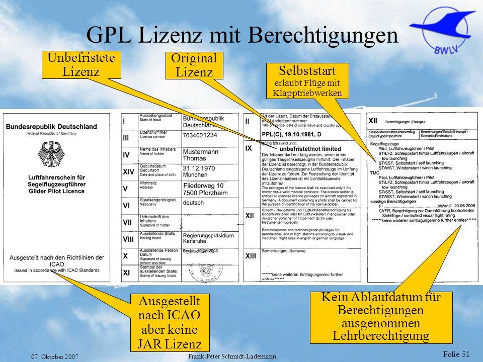 GPL Lizenz mit Berechtigungen