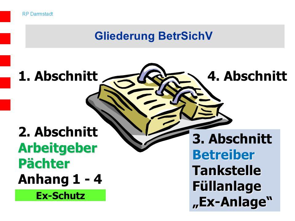 1. Abschnitt 4. Abschnitt 2. Abschnitt Arbeitgeber Pächter