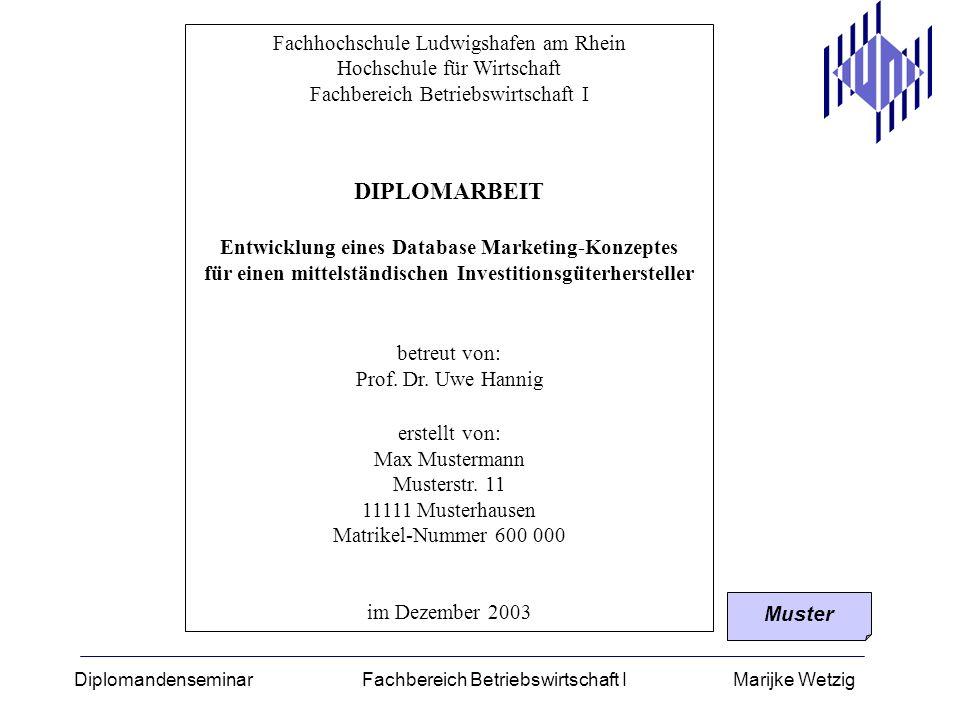 DIPLOMARBEIT Fachhochschule Ludwigshafen am Rhein