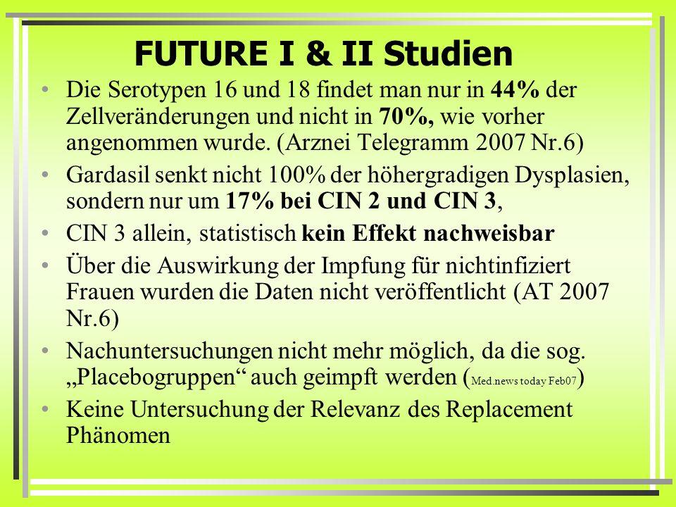 FUTURE I & II Studien