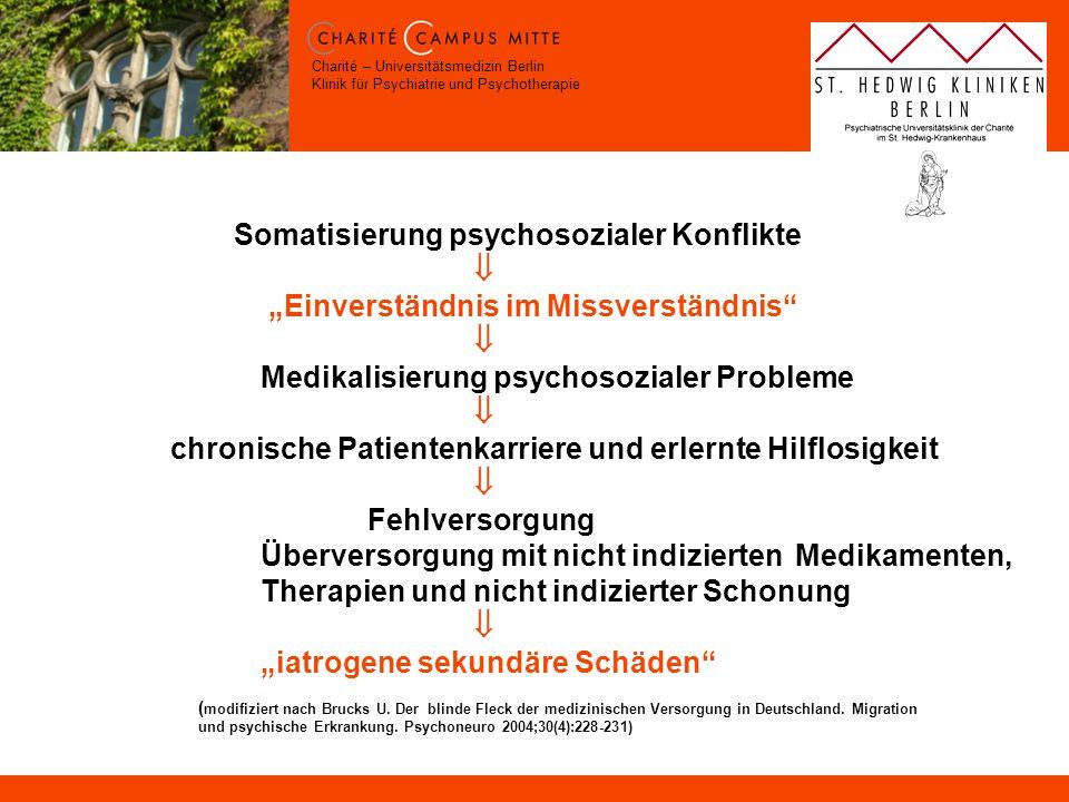 Somatisierung psychosozialer Konflikte. 