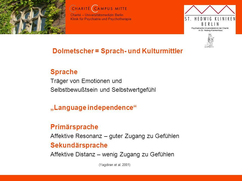 Dolmetscher = Sprach- und Kulturmittler