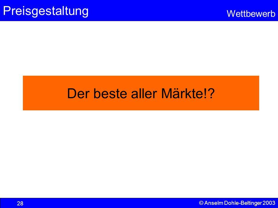 Der beste aller Märkte! © Anselm Dohle-Beltinger 2003