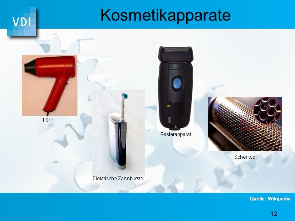 Kosmetikapparate Föhn Rasierapparat Scherkopf Elektrische Zahnbürste