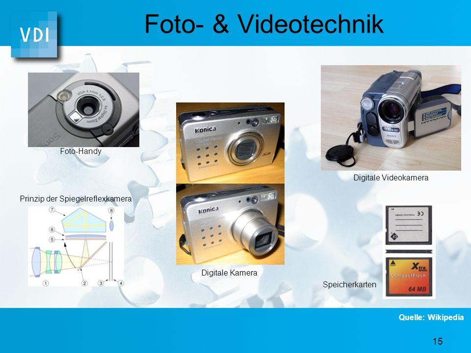 Foto- & Videotechnik Foto-Handy Digitale Videokamera
