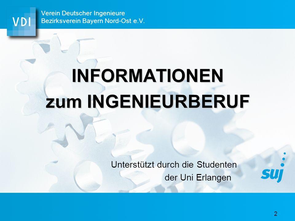 Verein Deutscher Ingenieure Bezirksverein Bayern Nord-Ost e.V.