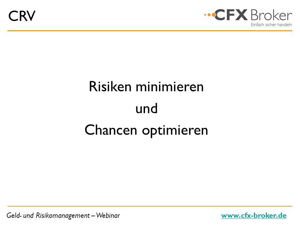 CRV Risiken minimieren und Chancen optimieren 8