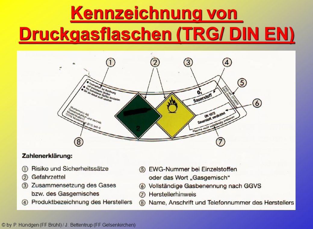 Druckgasflaschen (TRG/ DIN EN)