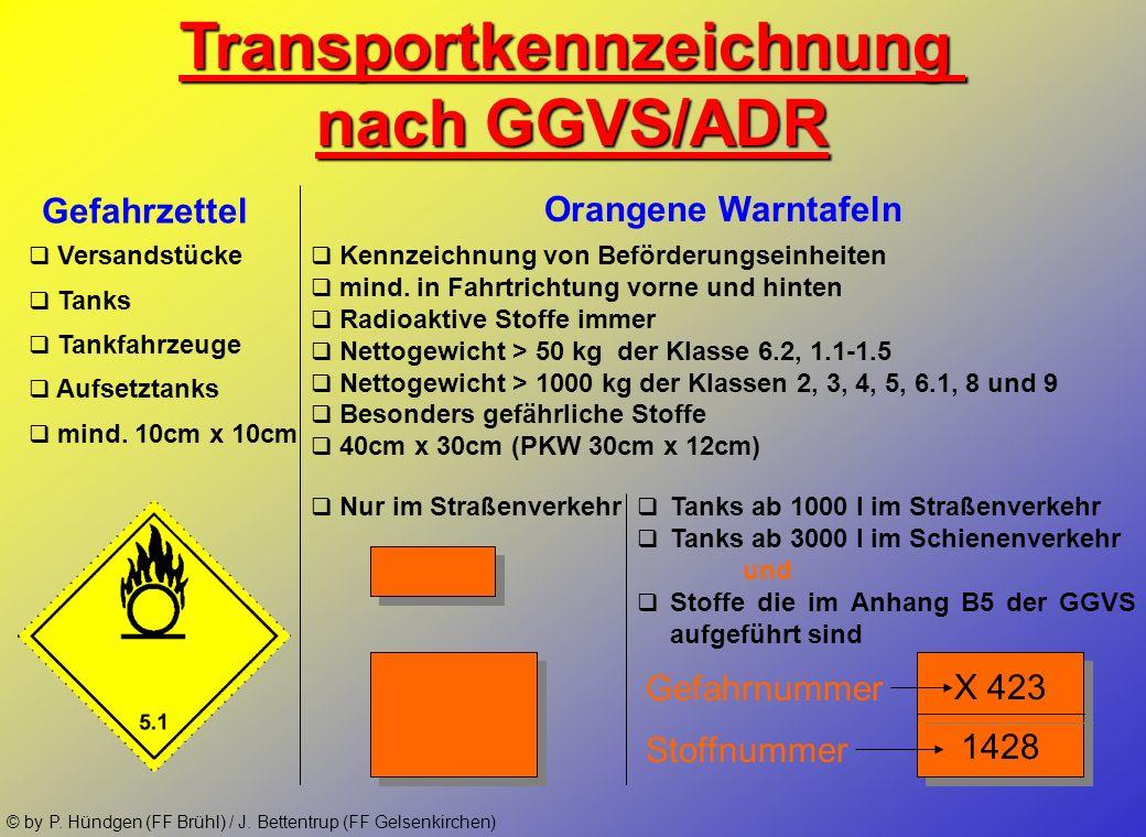Transportkennzeichnung