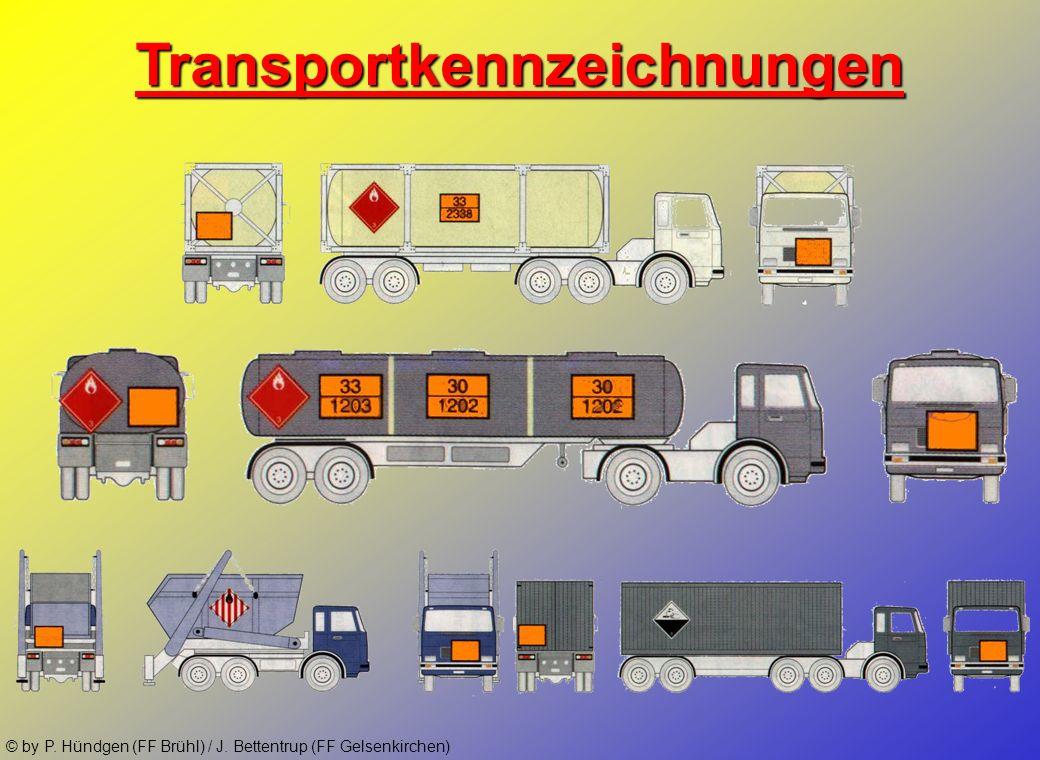 Transportkennzeichnungen